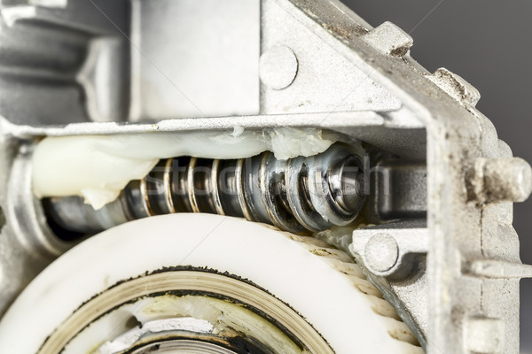 Worm gear , shown up close Stock photo © marekusz