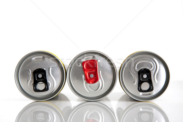 beverage cans Stock photo © marekusz