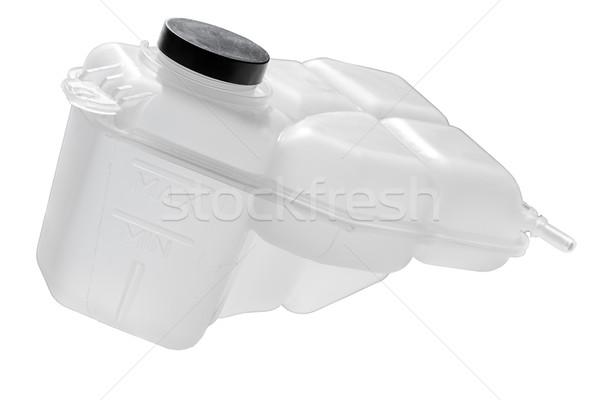 Alátét folyadék víztározó fekete sapka tank Stock fotó © marekusz