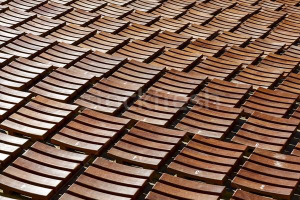 Publiek hal outdoor Open lucht bouw Stockfoto © marekusz