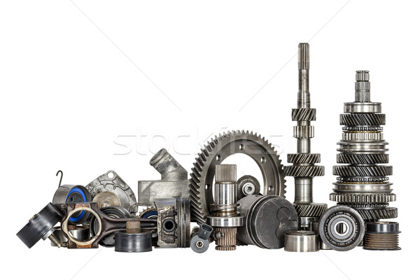Set of various car parts Stock photo © marekusz