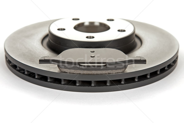 brake disc and brake pad Stock photo © marekusz