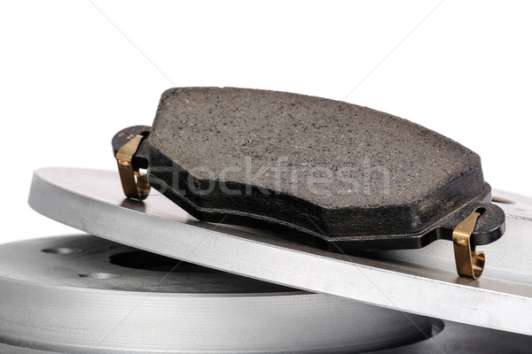 Brake pad and brake discs  Stock photo © marekusz