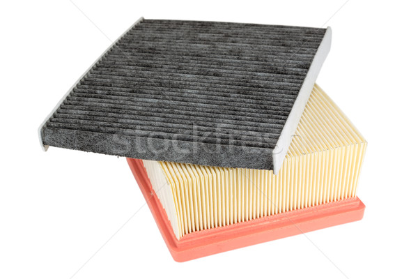 pollen filter and air engine filter Stock photo © marekusz