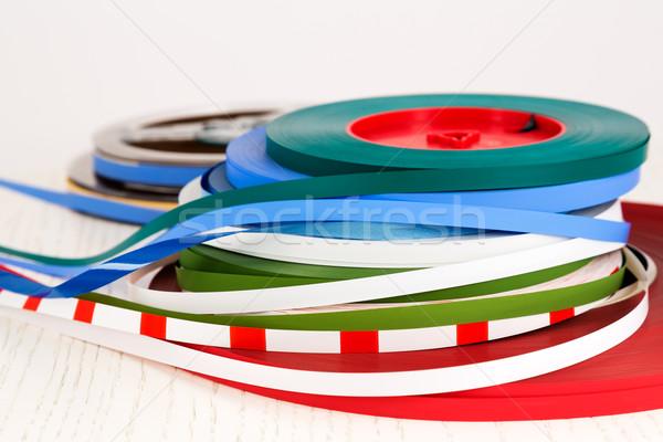 Leader tape Stock photo © marekusz