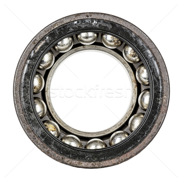 Dismantled old and very worn ball bearing Stock photo © marekusz