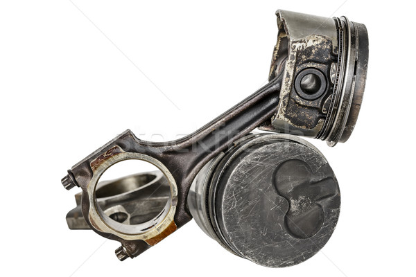 Two pistons and connecting rods Stock photo © marekusz