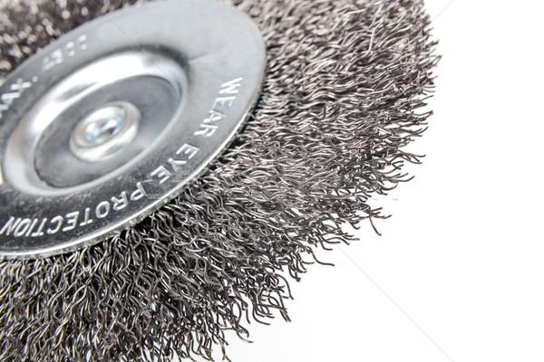 Tel fırçalamak temizlik Stok fotoğraf © marekusz