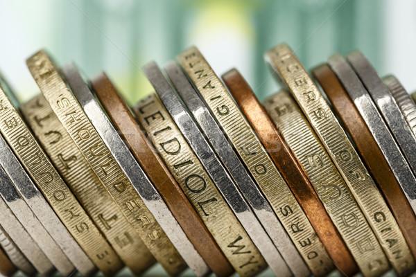 Moedas dinheiro sucesso Foto stock © marekusz