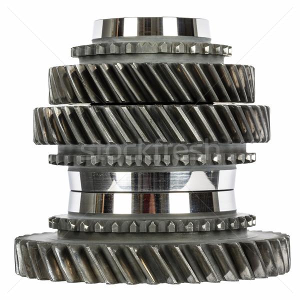 Cog wielen versnellingsbak technologie Stockfoto © marekusz