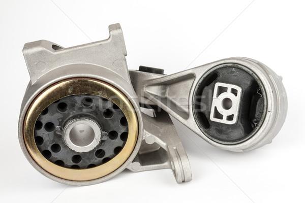Iki farklı motor süspansiyon araba vücut Stok fotoğraf © marekusz