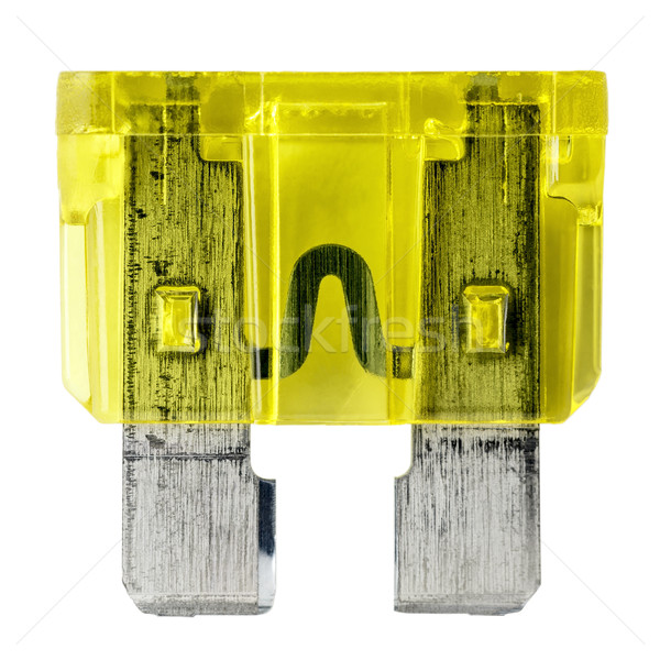 Yellow car fuse Stock photo © marekusz