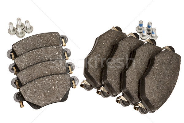 Brake pad set with screws Stock photo © marekusz