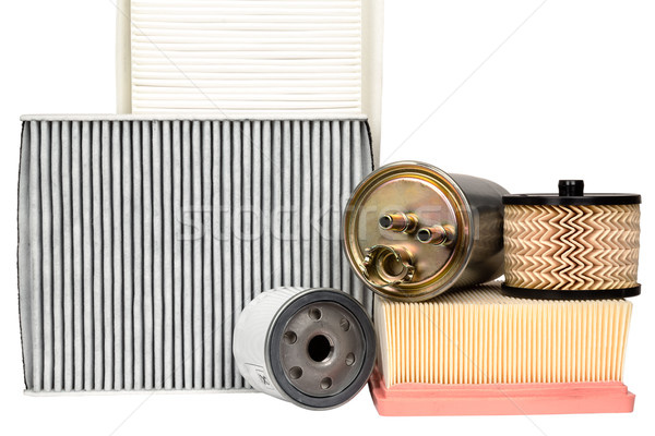 Various automotive filters Stock photo © marekusz