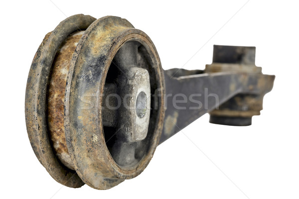 Old and rusty suspension link Stock photo © marekusz
