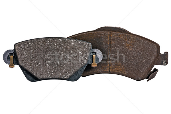 Brake pads, new and used Stock photo © marekusz