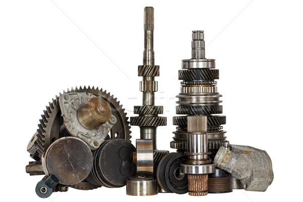 Miscellaneous used car parts Stock photo © marekusz