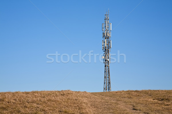 telecommunication mast Stock photo © marekusz
