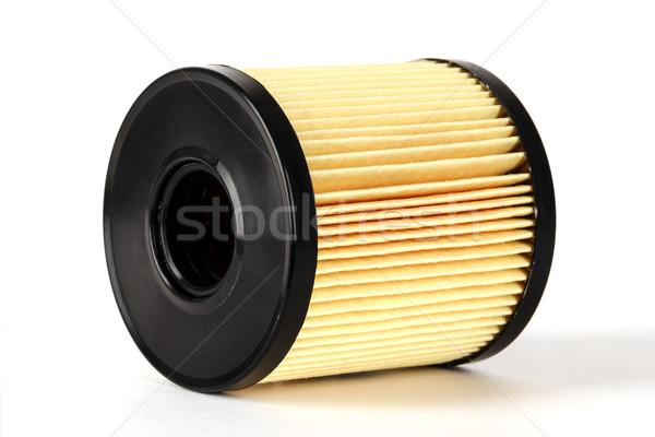 Pétrolières filtrer élément utilisé nettoyage combustion Photo stock © marekusz