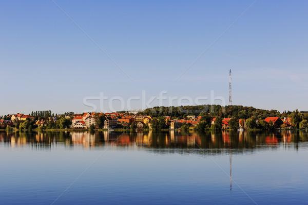 Mragowo, city at the Masurian Lake District  Stock photo © marekusz