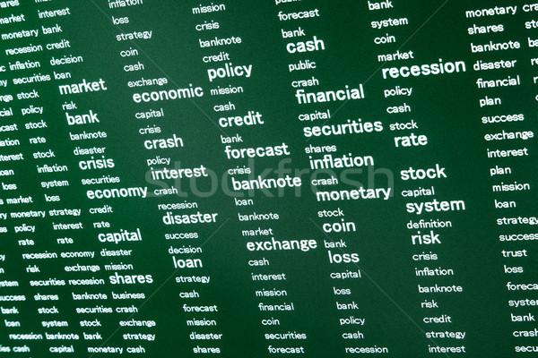 solving problems with finance Stock photo © marekusz