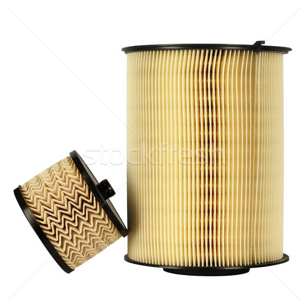 Automotive fuel filter and air filter Stock photo © marekusz