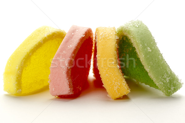 Kleurrijk zoet voedsel banketbakkerij product gelei Stockfoto © marekusz