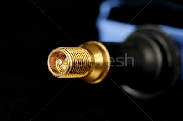 Closeup of a tire valve Stock photo © marekusz