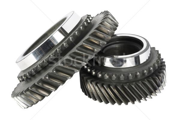 Two worn cog wheels Stock photo © marekusz