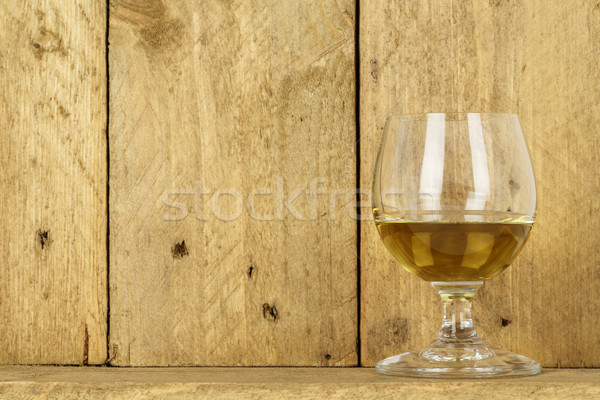 Glass of alcohol Stock photo © marekusz