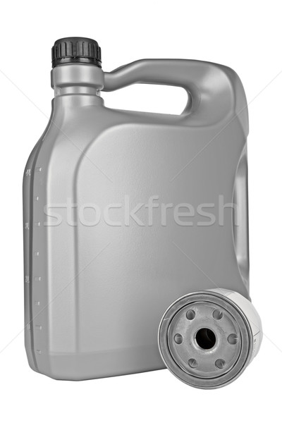 engine oil and oil filter Stock photo © marekusz