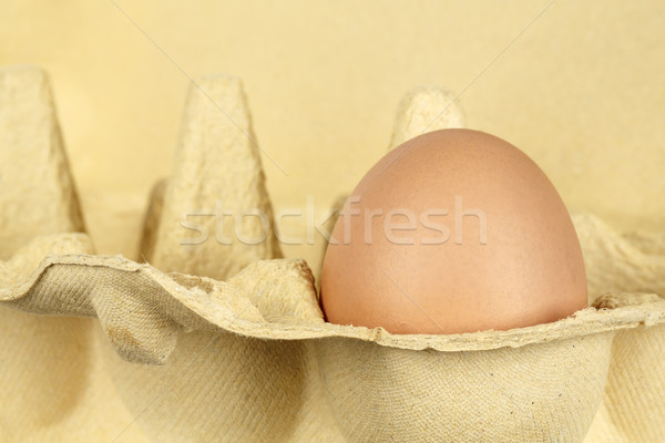 Egg in the package Stock photo © marekusz