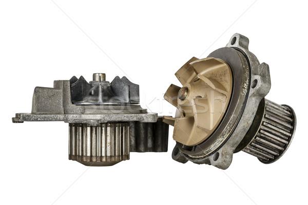 Deux vieux eau moteur refroidissement voiture Photo stock © marekusz