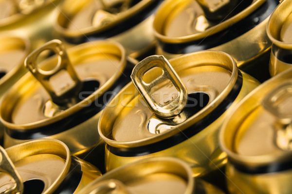 Empty beverage cans Stock photo © marekusz