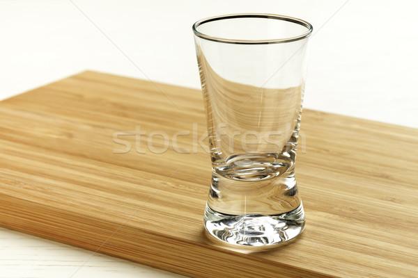 Empty glass  Stock photo © marekusz
