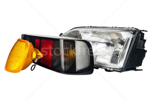 automobile lamps set Stock photo © marekusz