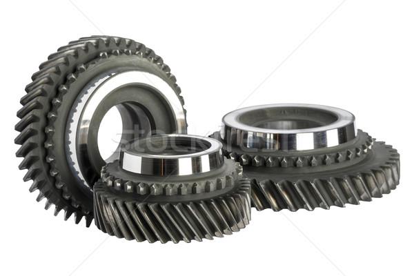 Tres Cog ruedas principal tecnología Foto stock © marekusz