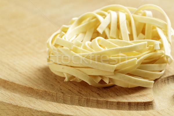 An uncooked pasta nest Stock photo © marekusz