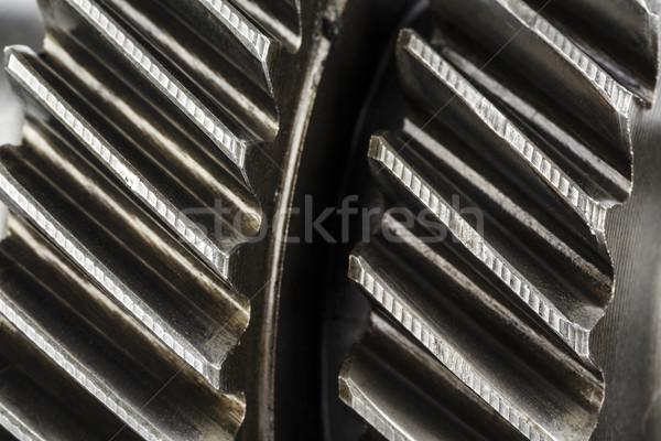 Worn cog wheels Stock photo © marekusz
