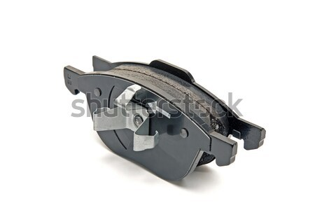 Stock photo: front wheel brake pads