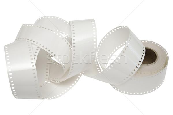 white film reel on a white background Stock photo © marekusz