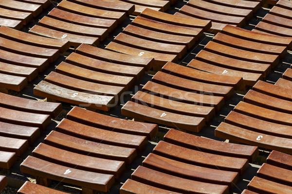 Audiencia sala abierto aire construcción diseno Foto stock © marekusz