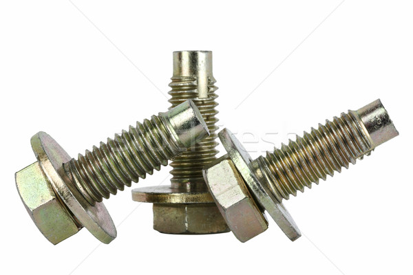 Three special bolts for the automotive industry Stock photo © marekusz