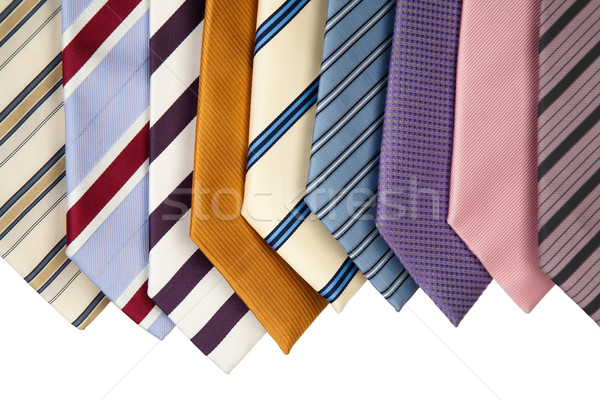 collection of neckties  Stock photo © marekusz