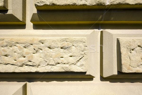 Fal homokkő öreg háttér kő retro Stock fotó © marekusz