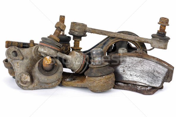 Worn out suspension auto parts Stock photo © marekusz