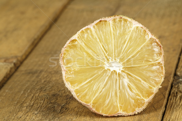 Dried lemon  Stock photo © marekusz