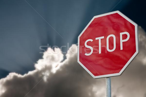 stop sign Stock photo © marekusz
