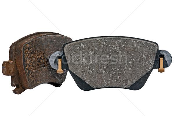 Used and new brake pad Stock photo © marekusz