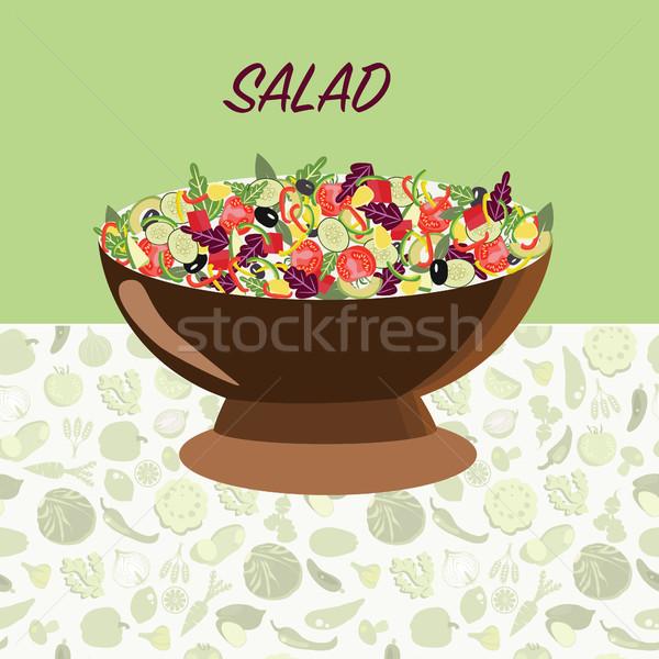 Fresche naturale cibo sano dieta stile Foto d'archivio © Margolana